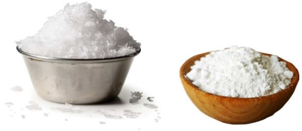 baking soda salt to get rid of yellow teeth
