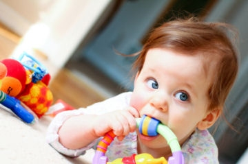 symptoms of baby teething